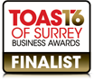 Toast of Surrey Business Awards